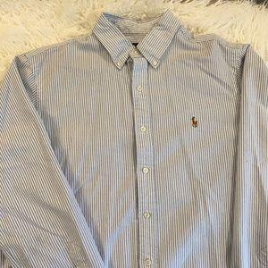Polo Ralph Lauren long sleeve dress shirt!